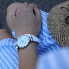 """An elegant wrist with your white LC6. """"Never Give Up"""" Number 8, Never Give Up, Elegant, Leather, Accessories, Fashion, Dapper Gentleman, Chic, La Mode"""