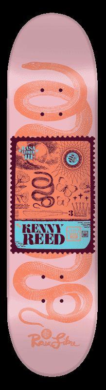 Rasa Libre / Kenny Reed / Postage Series