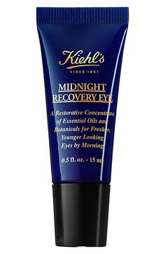 Free shipping and returns on Kiehl's Since 1851 Kiehl's Since 1851 'Midnight Recovery' Eye Concentrate at Nordstrom.com. The ideal companion to the highly successful Midnight Recovery Concentrate, this restorative concentrate of essential oils and botanicals improves the youthful appearance around the eye. Infused with the same natural ingredients as Midnight Recovery Concentrate, as well as Butcher's Broom, this night treatment leaves under-eye skin feeling strengthened and replenished…