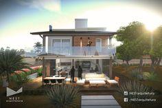 1|3 CASA IS - Projeto arquitetônico residencial na Lagoa Garopaba do Sul, em Jaguaruna - SC