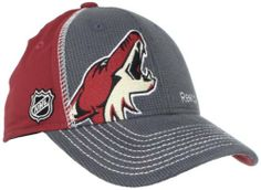 NHL Phoenix Coyotes Youth Flex Fit Draft Hat, Red/Grey, One Size adidas. $13.36