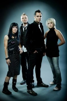 SKILLET!  Breaking boundaries of Christian music.  You can love Jesus and be a rocker!