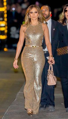 Jennifer Lopez at the 'Jimmy Kimmel Live!' show in Hollywood