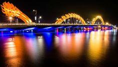 Просто нереально красивые мосты мира   Ирина Лем  приглашает  Драконов мост. Вьктнам