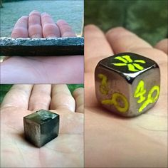 metal dice for the Elder sign game