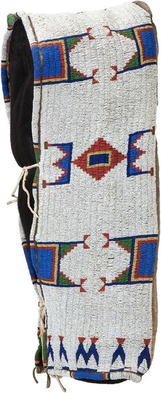 Quillwork by the Sioux Indians Native American Baby, Native American Regalia, Native American Artifacts, Native American Beadwork, American Indian Art, Native American History, Native Beadwork, Native Indian, Native Art