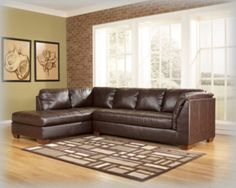 Laf Corner Chaise-sectionals-durablend - Mahogany