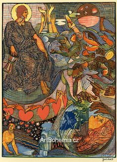 Josef Váchal Ruce Found Art, Macabre, Printmaking, Art Gallery, Auction, Museum, Painters, World, Illustration