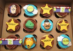 Toy Story Cupcakes by Cutie Cakes WY, via Flickr