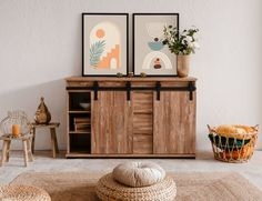 Buffet, Cabinet, Storage, Kiefer, Furniture, Home Decor, Products, Marrakech, Engineered Wood