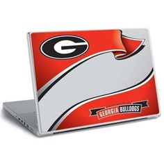 Georgia Bulldogs Peel & Stick Laptop Wear