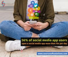 Social media apps are growing in popularity, whether it is the latest sensation, Tik Tok, or the most-used platform, Facebook. Planning to create your own #socialmediaapp? We will be happy to assist you with any ideas you may have. Contact us: +1 (609) 945-4955 #sourcesoft Social Media Apps, Social Media Services, Medium App, Pune, Tik Tok, Digital Marketing, Create Your Own, Knowledge, Platform