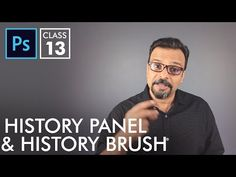 History Panel and History Brush - Adobe Photoshop for Beginners - Class 13 - Urdu / Hindi Photoshop Tutorial, Photoshop Actions, Adobe Photoshop, I Wish I Knew, Digital Scrapbooking, Photography Tips, History, Youtube, Psychedelic