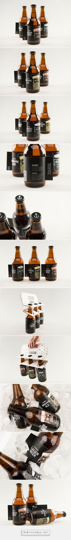 Ahoy Brewery #packaging by Rasmus Erixon - http://www.packagingoftheworld.com/2015/01/ahoy-brewery-student-project.html