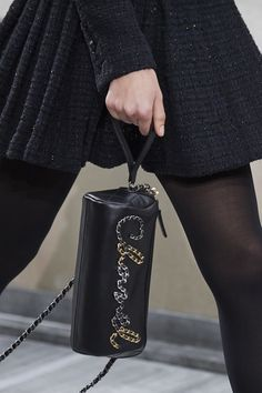 Chanel spring 2020 logo accessory purse