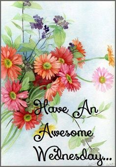 Have an awesome Wednesday! ♥