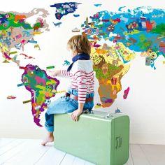 Mimilou wereld kaart