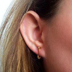Safety pin earrings. | 33 Accessories Every '00s Teen Owned And Loved