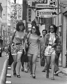 Seoul, South Korea in 1960s.