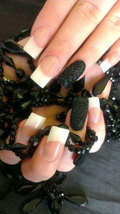 Black glitter