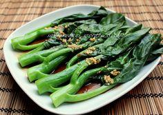 Chinese broccoli & oyster sauce (Cải làn sốt dầu hào) by LinhTrang9185, via Flickr