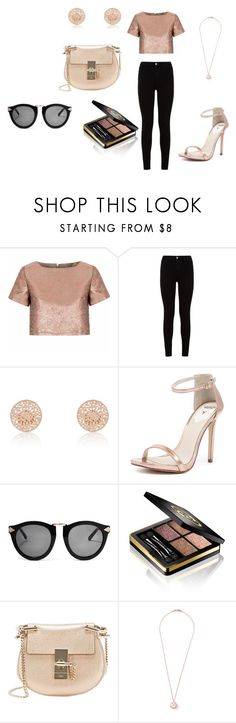 """Rose Gold"" by madi0401 ❤ liked on Polyvore featuring Glamorous, 7 For All Mankind, River Island, Windsor Smith, Karen Walker, Gucci, Chloé and Ippolita"