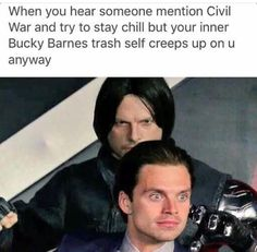 Literally my life when someone mentions the Winter Soldier.