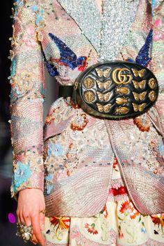 #Gucci Ready to Wear Fall 2017 #Details Gucci Fashion, Couture Fashion, Runway Fashion, Fashion Show, Womens Fashion, Fashion Trends, Fast Fashion, Milan Fashion, Gucci Fall 2017