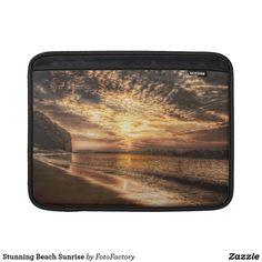 Stunning Beach Sunrise MacBook Sleeve