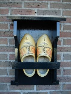Typical wooden shoes