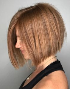 Straight Inverted Bob Blowout