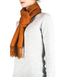 Kaschmir Schal orange front Pullover, Sweaters, Orange, Fashion, Red Shawl, Cashmere, Scarves, Moda, Sweater