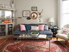 Masculine and feminine styles come together beautifully in this D.C. row house #hgtvmagazine #housetour http://www.hgtv.com/design/decorating/design-101/the-perfect-mix-of-his-and-hers-pictures?soc=pinterest