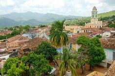 A stunning view of Trinidad, Cuba.