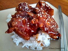 It's tender, juicy, incredibly tasty and delicious! Baked Chicken, Sauce Recipes, Chicken Wings, Spicy, Anna, Chinese, Tasty, Baking, Kitchens