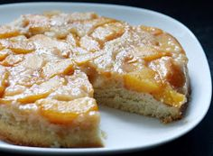 Coconut & Lime // Rachel Rappaport: Peach Upside Down Cake (on the grill)