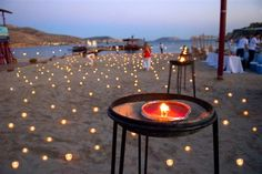 Event by the sea decorated by MELI Parties! Greek style
