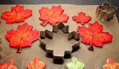 Maple Leaf Shaped Cookies Shaped Cookie, Leaf Shapes, Cookie Cutters, Cookies, Amazing, Food, Crack Crackers, Biscuits, Essen