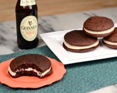 Chocolate Stout Whoopie Pies | by Dede Wilson | on The Daily Meal