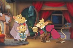 Dawson Olivia and Basil of Baker Street. I love the Great Mouse Detective! Kid Movies, Disney Movies, Disney Pixar, Disney Characters, Disney Xd, Pixar Movies, Watch Movies, The Great Mouse Detective, Animated Movies For Kids