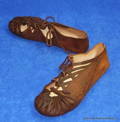Dark Age shoes, Early Medieval, One Piece Shoe, Rus Viking Shoe Boot ...