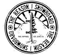 TRIS-The Reason I Snowboard awesome seal logo #snowboarding #logo