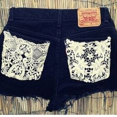 Lace pockets