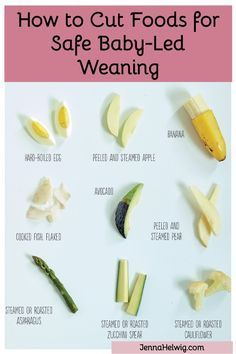How to cut finger foods for baby-led weaning - Baby-Led Feeding - All About Baby-Led Weaning - Baby Led Weaning First Foods, Baby First Foods, Baby Finger Foods, Baby Led Weaning Recipes 6 Months, Baby Led Weaning Breakfast, Baby Lef Weaning, Blw Breakfast Ideas, Baby Food Guide, Baby Food Recipes Stage 1