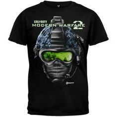 Call of Duty - Mens Helmet T-shirt available in the UK at http://www.call-of-duty-products-worldwide.com/shopUK/call-of-duty-mens-helmet-t-shirt/