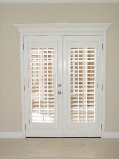 19 Beautiful Louvered French Doors Snapshot Inspiration French Door  Shutters, Blinds For French Doors,