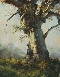 John McCartin - The Power of One- Oil - Painting entry - January 2014 Landscape Art, Landscape Paintings, Oil Paintings, Painting Competition, Online Painting, Australian Artists, Tree Art, Beautiful Paintings, Painting Inspiration