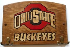 Ohio State Buckeyes Handcrafted Wood Plaque with by TeamPlaques4U, $32.95