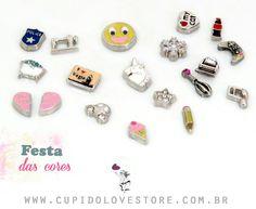 Confira os novos modelos de mini charms disponíveis no site. #linhatreasure  #charms #capsula compatível com #lifesecrets da #vivara