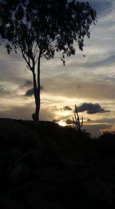 Pôr do sol em Gravatá/PE